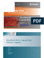 SharePoint 2013 Upgrade