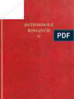 Antiphonale Romanum II