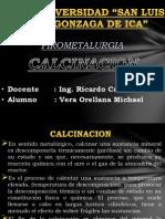 Calcinacion Michael Vera