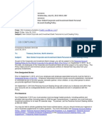 JPMorgan Chase Stock Portfolio New Rules 2013