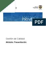 Modulo Presentacion