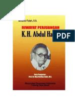 Riwayat Perjuangan k h Abdul Halim
