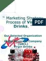 Marketing Strategy Process of Virgin Drinks