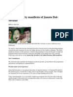 jds_manifesto_Loksava_Election_2009
