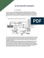Sistemas de inyección monopunt