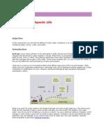 Acid Rain and Aquatic Life