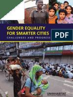UN--HABITAT 2010 Gender Equality for Smarter Cities-- Challenges and Progress, HS--1250--09E, UN Human Settlements Programme (34 Pp.)