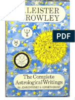 756473 Aleister Crowley the Complete Astrological Writings