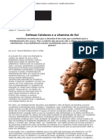 Defesas Celulares e a Vitamina Do Sol - Scientific American Brasil
