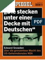 Edward Snowden über die grenzenlose Macht des US-Geheimdienstes NSA