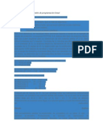 Construcción de un modelo de programación lineal