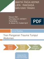Manajemen Non-Operatif Cedera Traumatik Pada Hepar Dan Lien