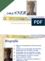 Skinner y Su Teoria Condicionamiento Operante
