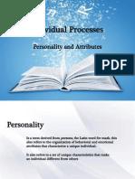 Individual Processes