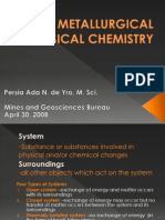 Metallurgical Physical Chemistry