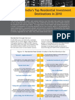 India's Top Residential Investment Destinations in 2010 (Vol 15) - Oct'10