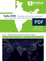 Today's Corporate Trends-Where is India beginning to steal China's Thunder?