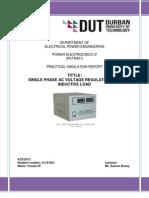 Power Electronics IV Report