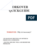 Oil Well Workover Quickguide