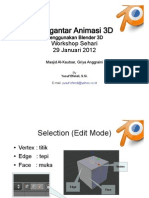 Modul Workshop Pengantar Animasi dengan Blender 3D