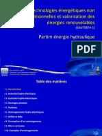 Cours énergie hydroélectricité ULg Arlon 1