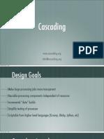 Map Reduce using Cascading