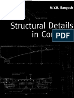 Structural Details in Concrete