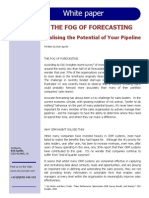 The FOG of FORECASTING - Realising the Potential of Your Pipeline