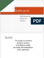Quality Gurus Ppt