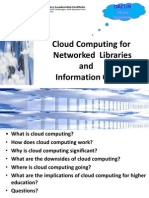 Cloud Computing in Networked Libraries