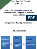 High-Level Data Link Control(HDLC)