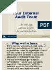 Your Internal Audit Team Brand