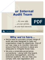 Your Internal Audit Team Brand