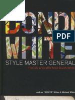 Dondi.white.style.master.general.2001. Writersbench