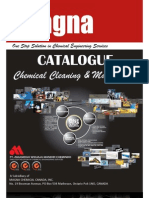 Catalogue of Cleaning & Maintenance Chemicals