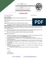 101.Acceptance Letter