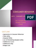 Consumer behavior Approaches Consumer Equilibrium
