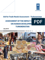 Turkmenistan aid for trade needs assessment