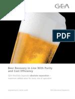 GEA WS BeerRecovery-Brochure