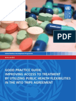 WTO TRIPS agreements and improving access to HIV/AIDS treatments