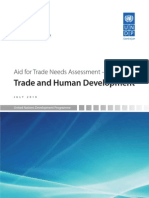 Azerbaijan aid for trade needs assessment