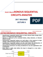 ASYNCRONOUS SEQUENTIAL ANALYSIS