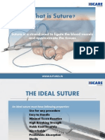 What are sutures and Types of Sutures