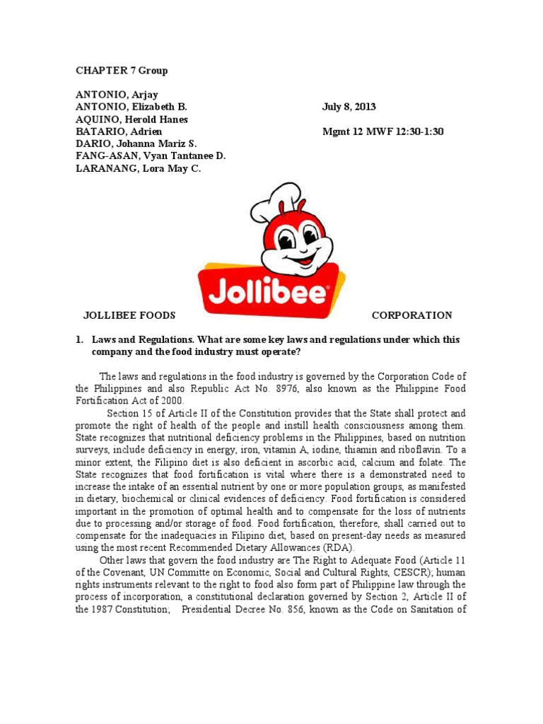 Financial statements for jollibee foods corporation revenue jollibee foods corp yelopaper Images