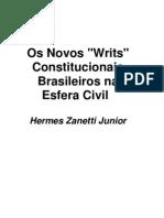 Os Novos 'Writs' Constitucionais Brasileiros Na Esfera Civil