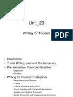 Tourism 23
