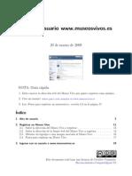 Guía de usuario www.museosvivos.es