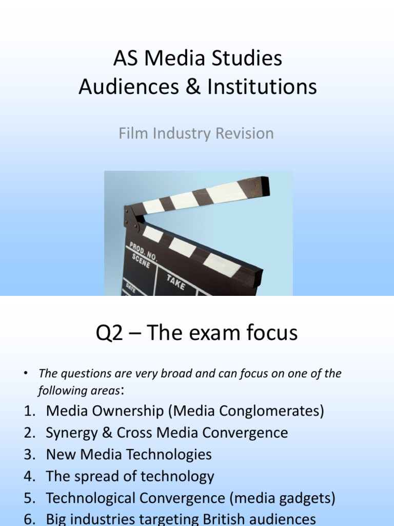 g322 film industry case study