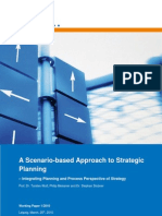 Scenario-Based Strategic Planning WP