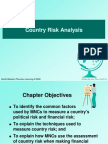 Ch 16 e 8 Country Risk Analysis